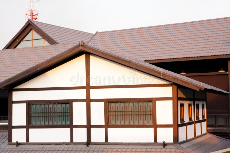 宗教地方建筑学日本大厦 库存照片