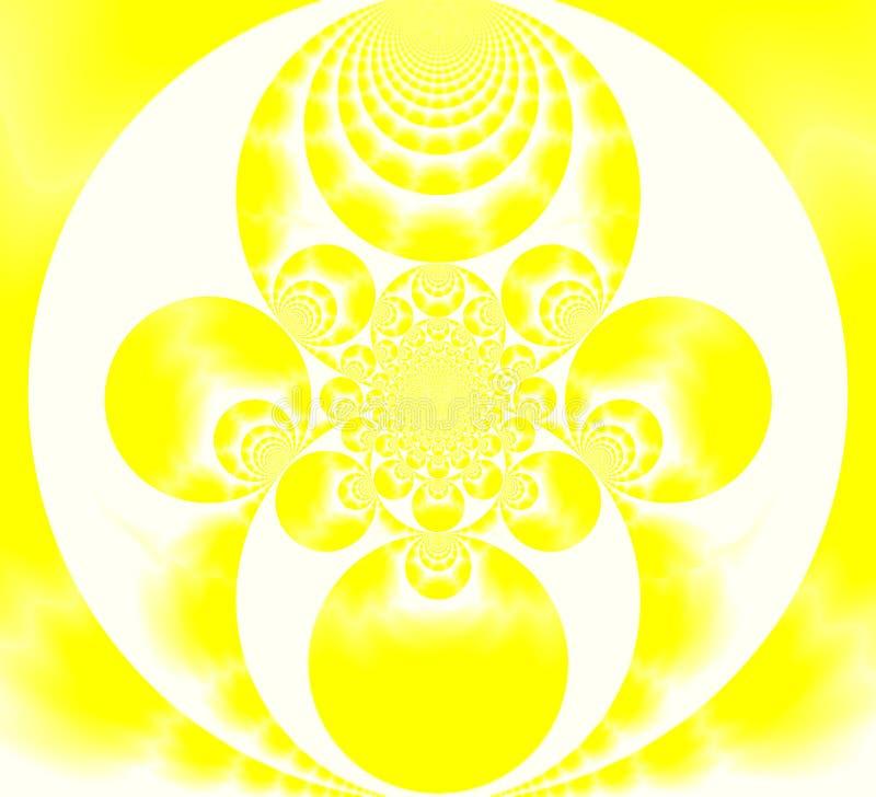 宗教的淡黄色样式 皇族释放例证