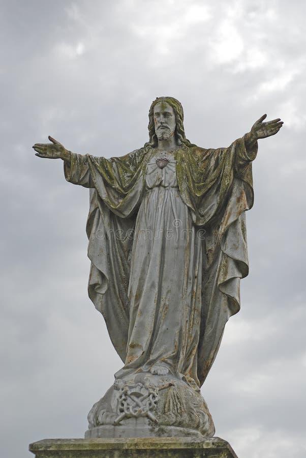 宗教雕象 免版税库存图片