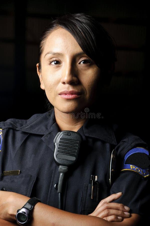 官员警察 免版税库存照片