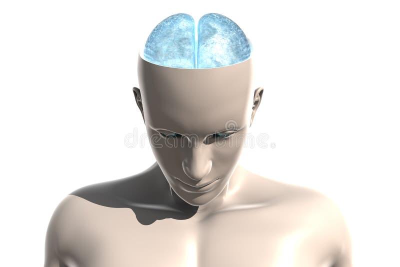 官能不良头脑个性 向量例证