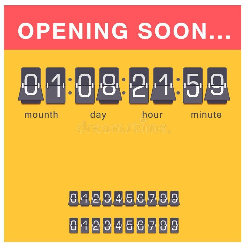 定时器时钟传染媒介手表秒表读秒标志小时例证时间标志分钟其次设计警报计时表 库存例证