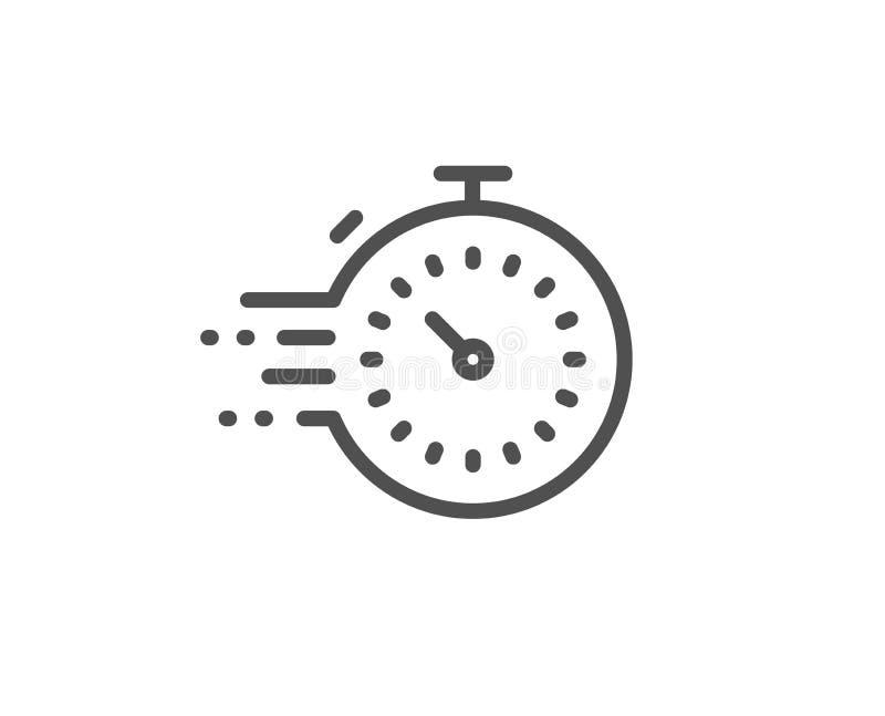 定时器线象 时间管理标志 ?? ?? 向量例证