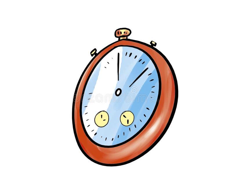 定时器 向量例证