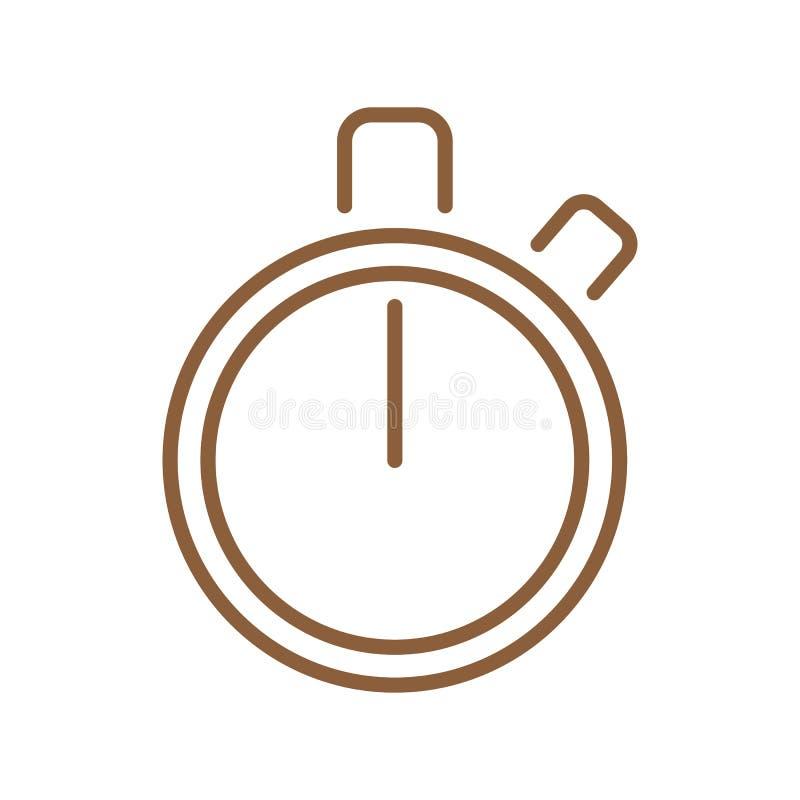 定时器Infographic元素传染媒介例证 库存例证