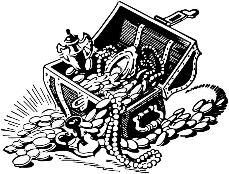 宝物箱2 皇族释放例证