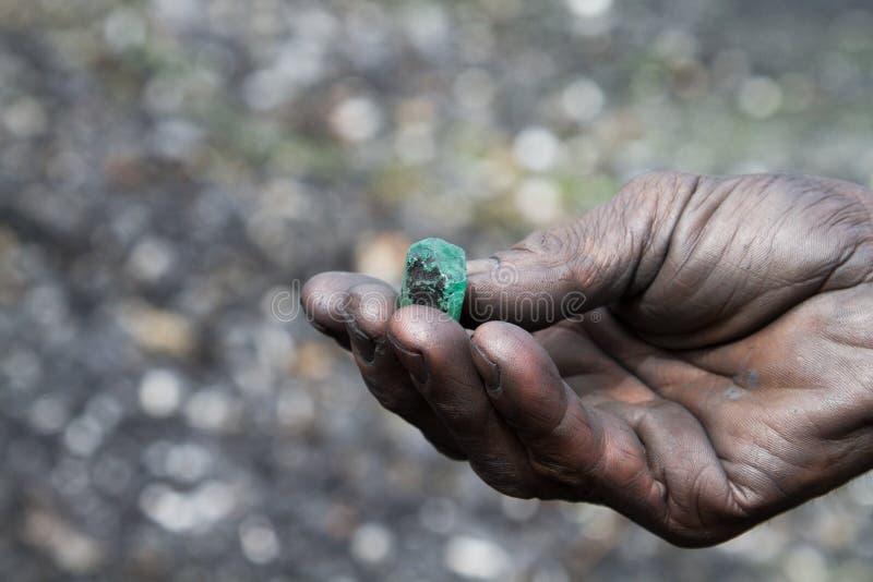 绿宝石,哥伦比亚 免版税库存图片