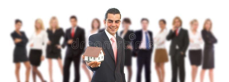 实际企业的庄园 免版税库存照片