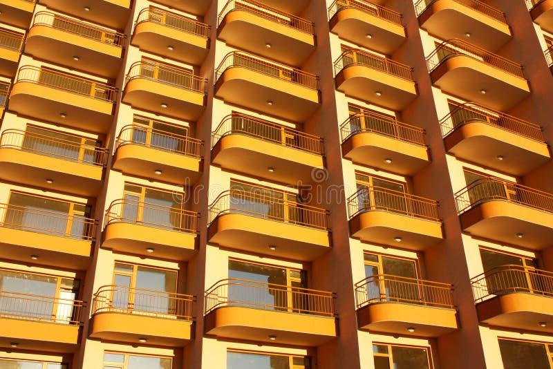 实际公寓的庄园 图库摄影