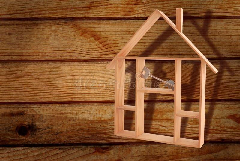 实际庄园的房子 免版税库存照片