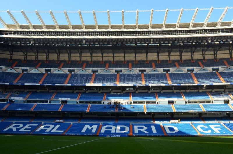 实际马德里体育场-西班牙 库存照片