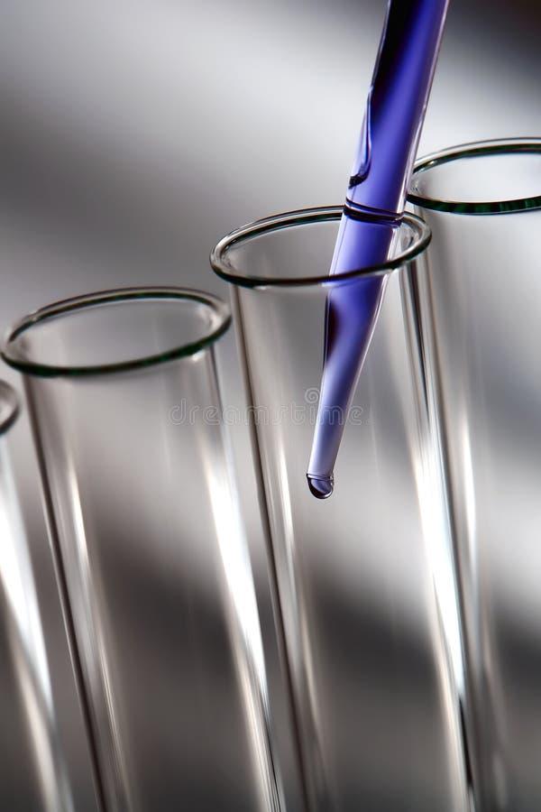 实验实验室科学研究的科学 免版税库存图片