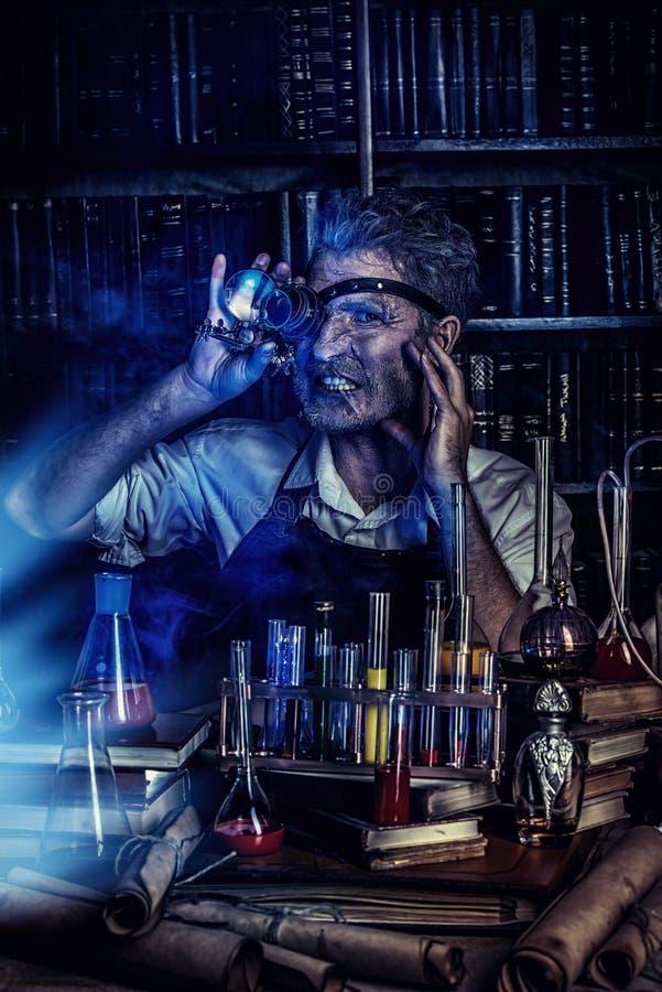 实验室发明者 免版税库存图片