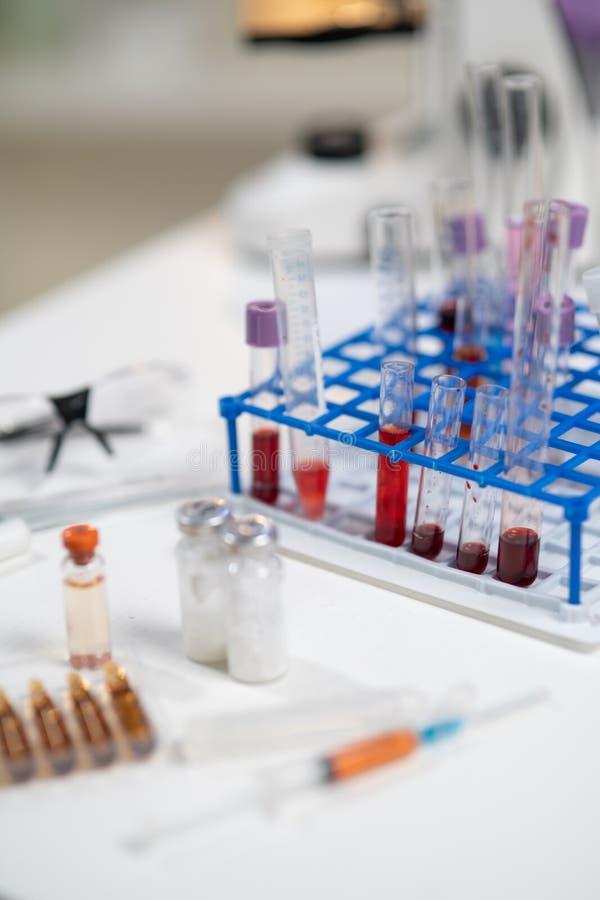 实验室表 免版税库存图片