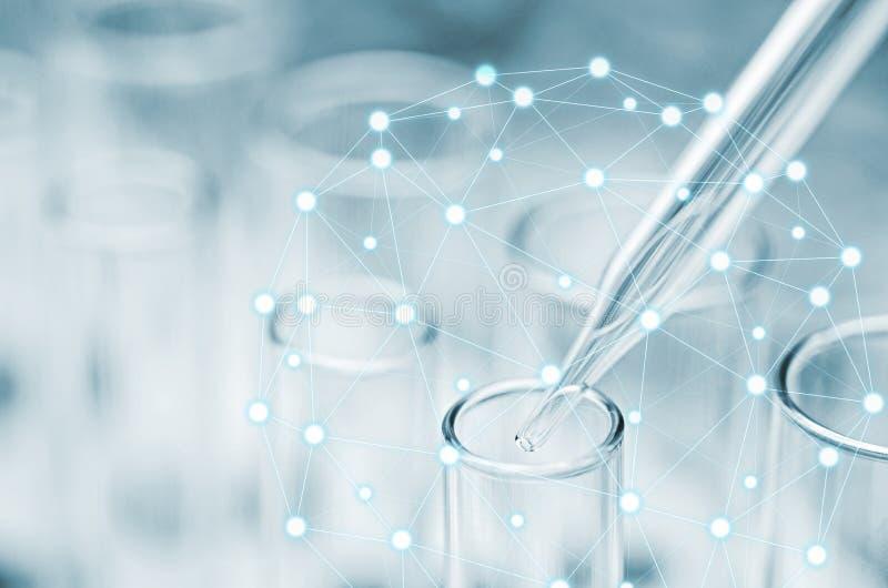 实验室试验管 向量例证