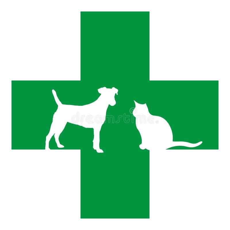宠物抢救 库存例证