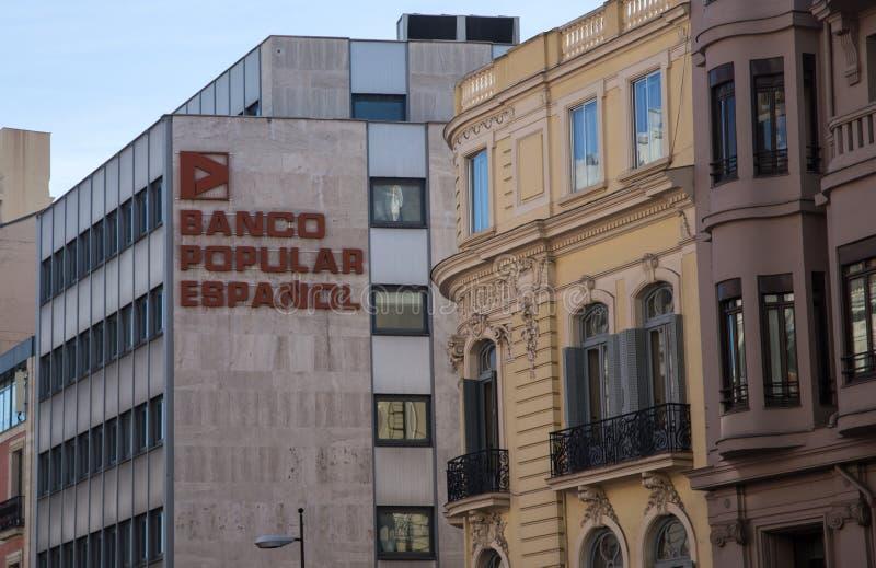 审判官席的普遍的Espanol 免版税库存照片