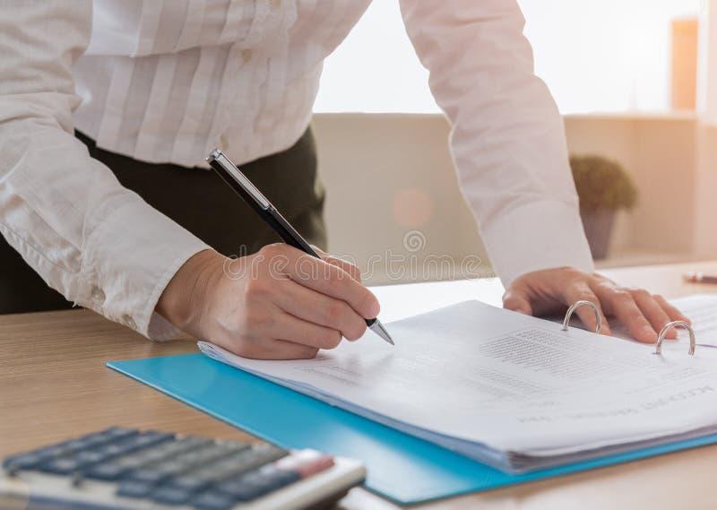 审计员或interna 免版税库存图片