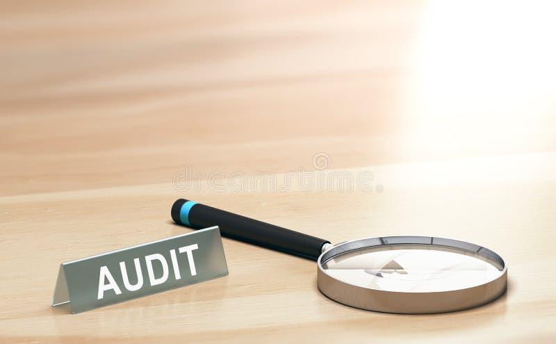 审计背景、财务或者会计概念 皇族释放例证