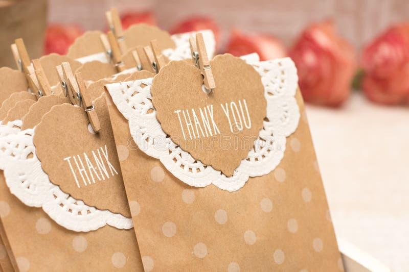 客人的结婚礼物 免版税图库摄影