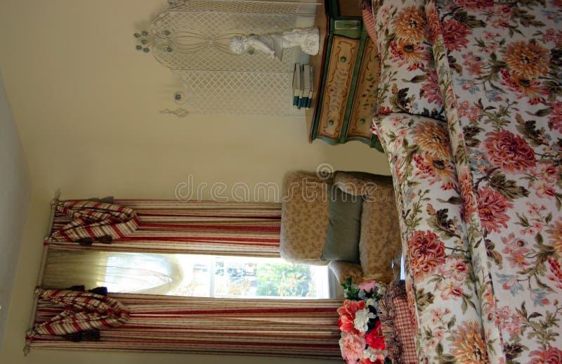 客厅传统维多利亚女王时代的著名人&# 库存图片