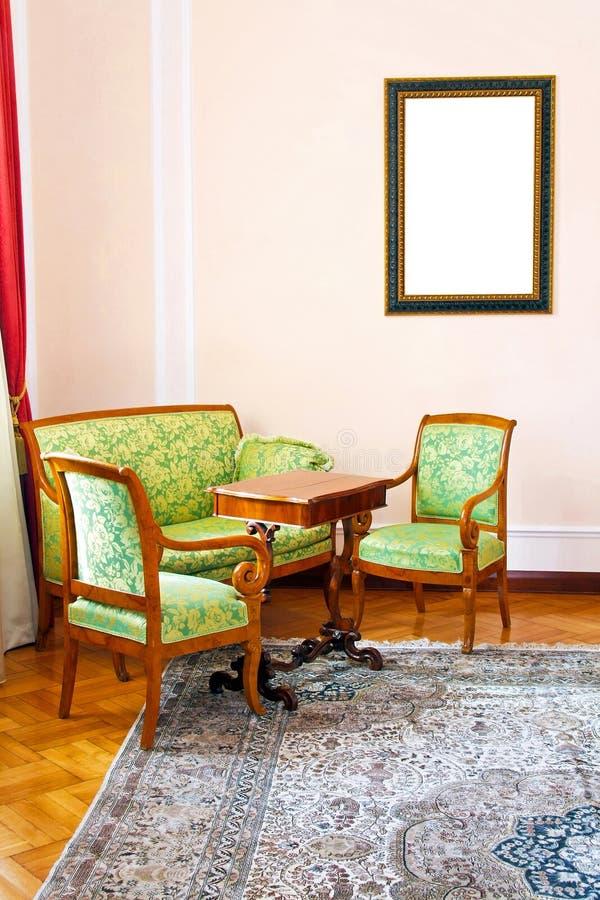 客厅 免版税库存照片