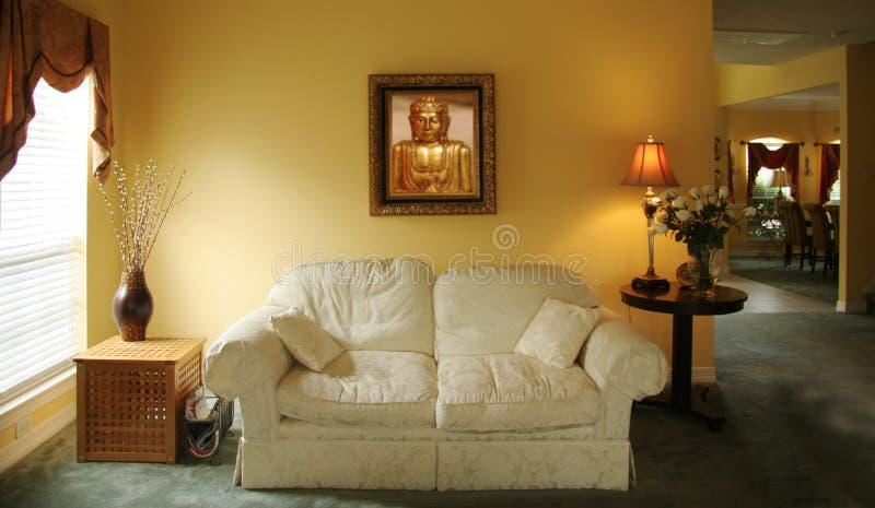 客厅 库存照片