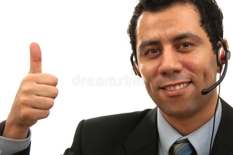 客户了不起的服务 免版税库存图片