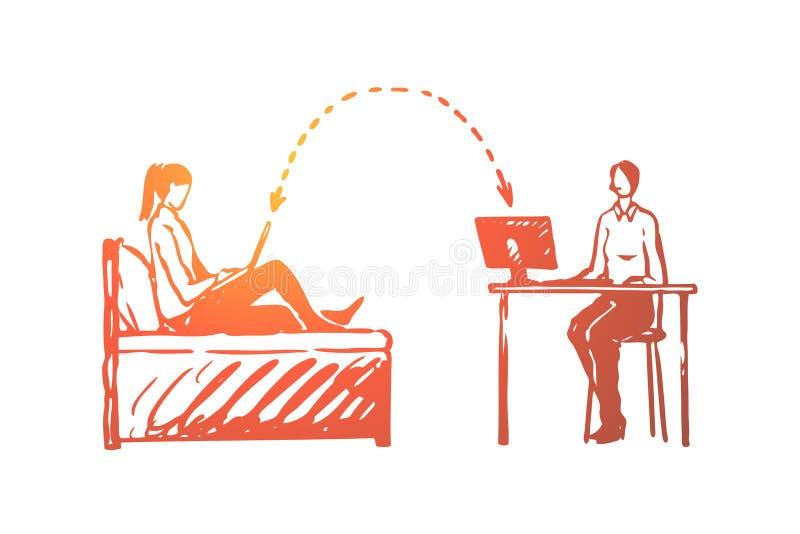 客户关系管理,事务,系统,顾客,网上概念 r 向量例证