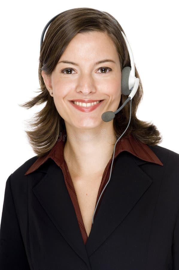 客户服务部运算符 免版税库存图片