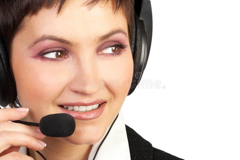 客户服务部 免版税库存图片