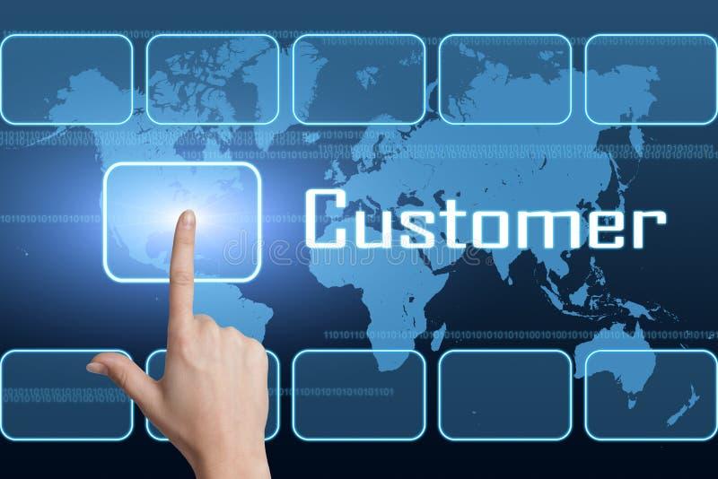 客户 向量例证