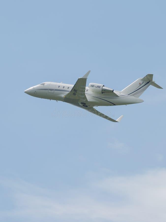 客机巴西航空工业公司ERJ-145LR 免版税库存照片