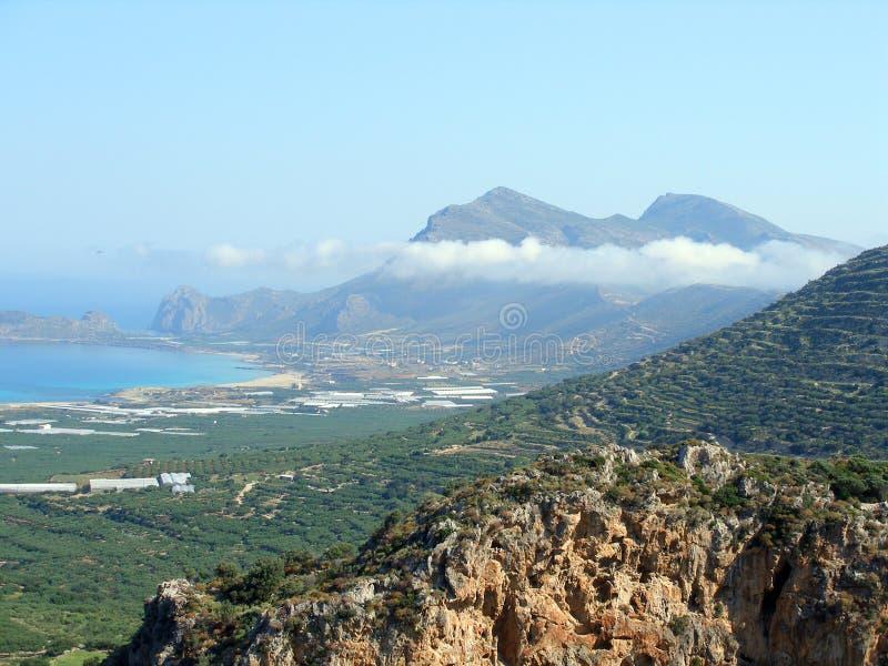 宣扬照片, Falasarna,干尼亚州,克利特,希腊 免版税库存图片