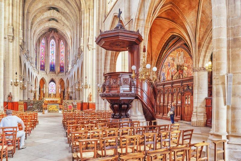 室内圣日耳曼l ` Auxerrois 免版税图库摄影