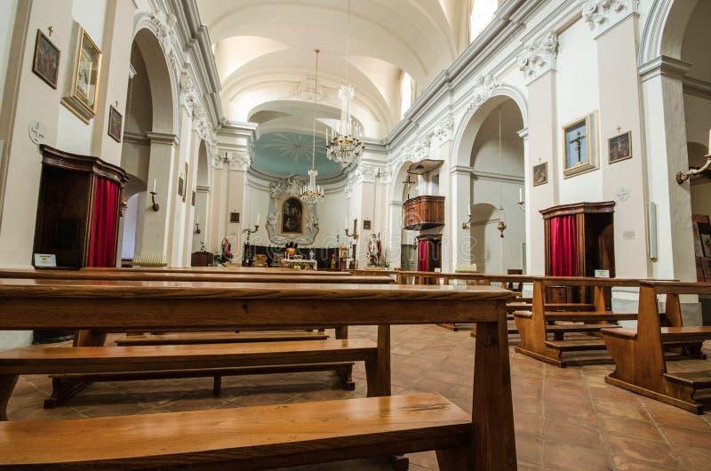 室内教会 库存图片