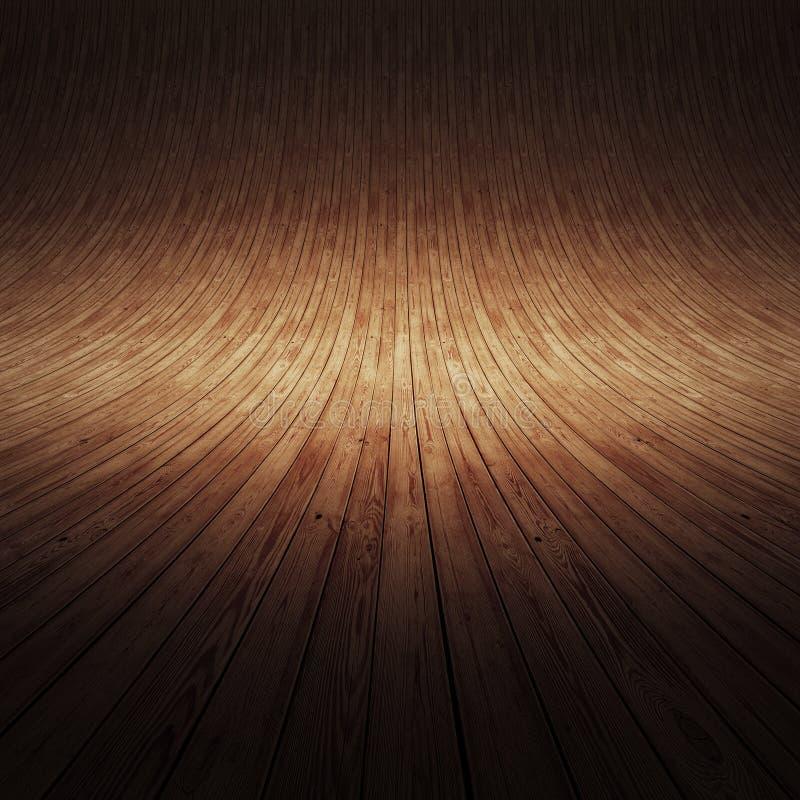 室内概念木头 免版税库存图片