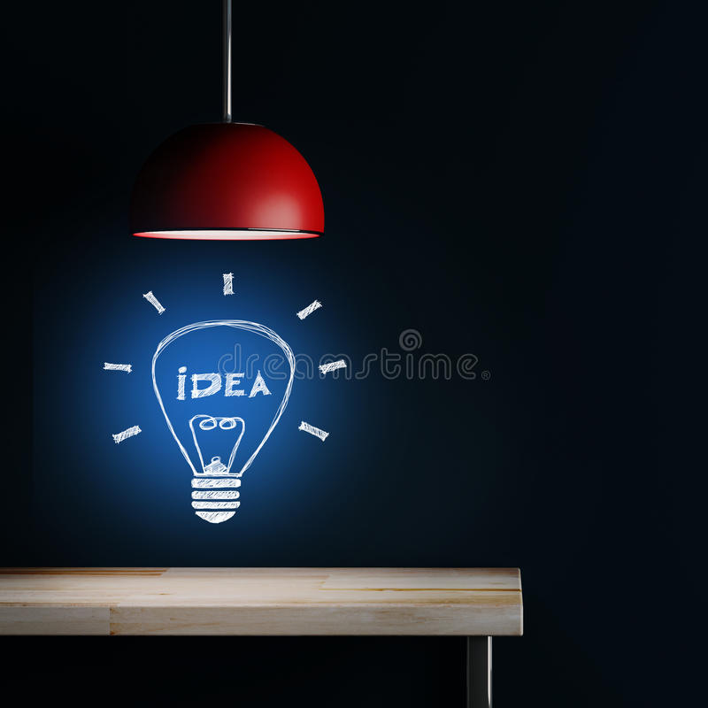 室内装璜灯  向量例证