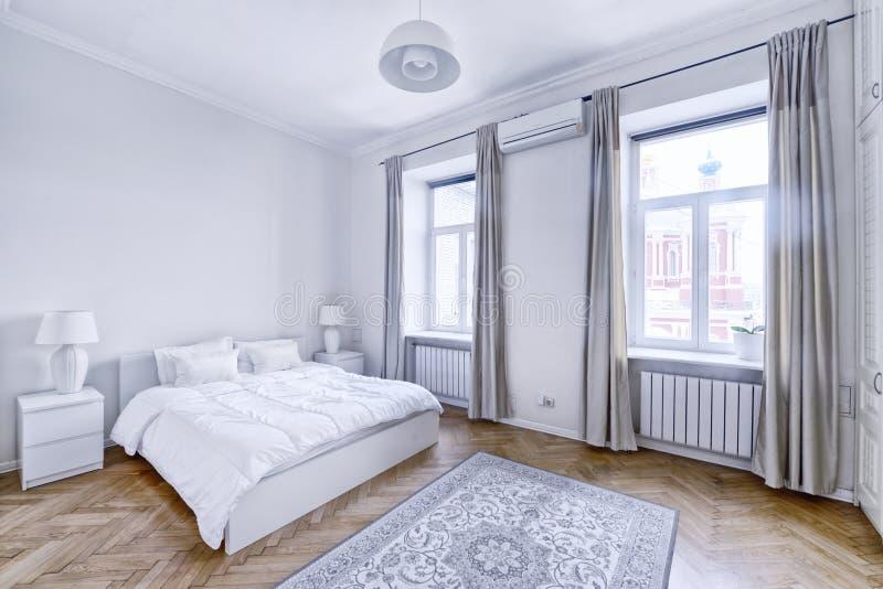 室内设计卧室 免版税图库摄影