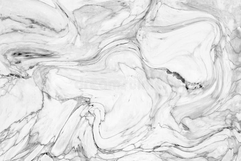 室内设计的抽象波动图式白色大理石纹理墙壁 免版税图库摄影