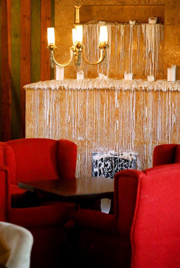 室内设计的片段的照片 免版税库存图片