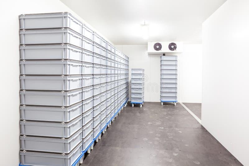 室冰箱 免版税库存照片