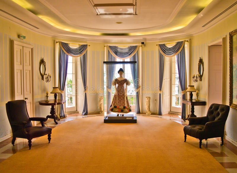 室在星期一回购宫殿,科孚岛 免版税库存照片