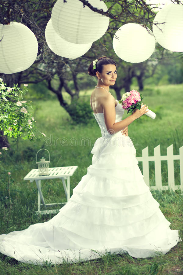 室外婚礼 图库摄影