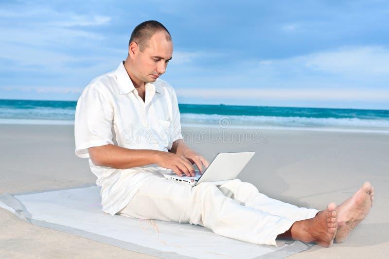 室外工作 免版税库存图片