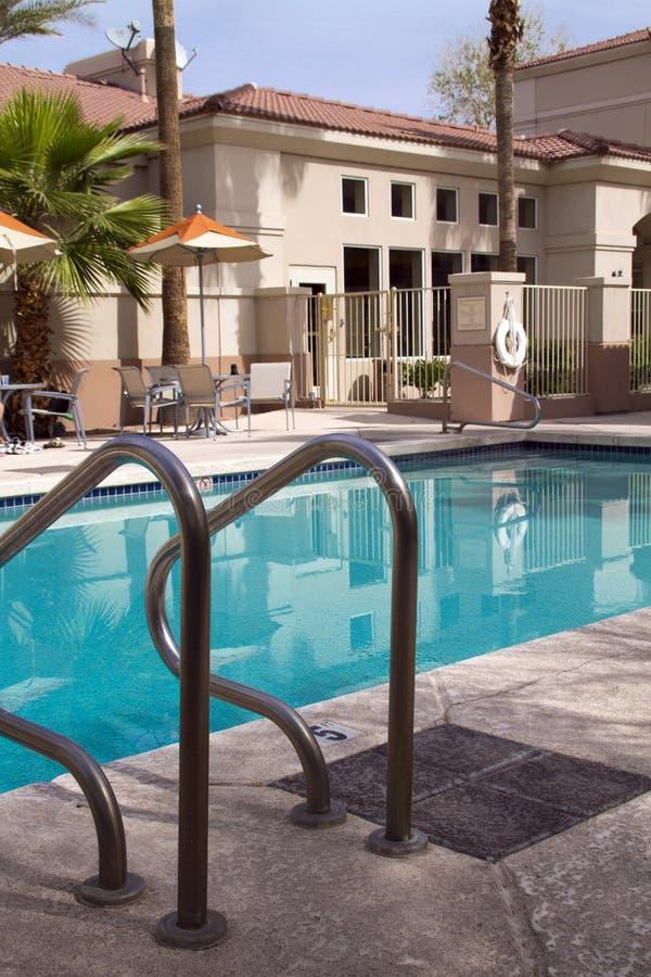 室外游泳池 免版税库存图片