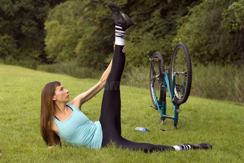 室外锻炼 库存图片