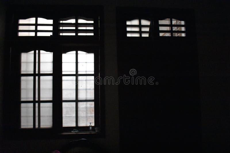 室视图-黑暗的背景 图库摄影