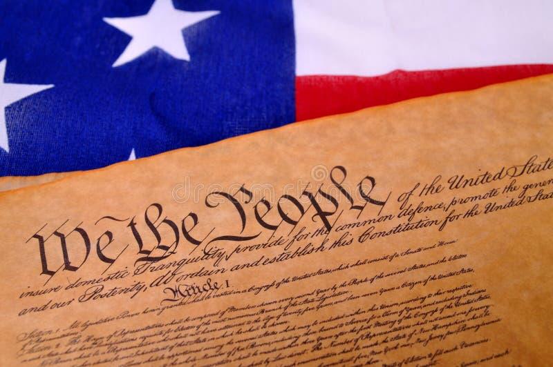宪法我们 免版税库存图片