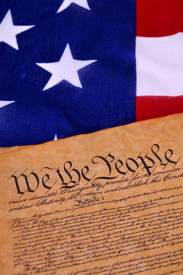 宪法我们 库存照片
